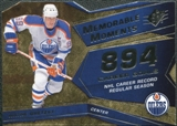 2008/09 Upper Deck SPx Memorable Moments #MMWG Wayne Gretzky