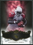 2008 Upper Deck Exquisite Collection #4 Edgerrin James /75