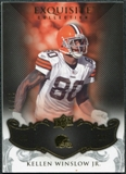 2008 Upper Deck Exquisite Collection #25 Kellen Winslow /75
