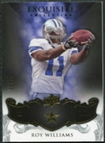 2008 Upper Deck Exquisite Collection #36 Roy Williams WR /75