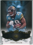 2008 Upper Deck Exquisite Collection #45 Fred Taylor /75