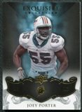 2008 Upper Deck Exquisite Collection #52 Joey Porter /75