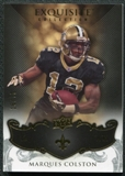 2008 Upper Deck Exquisite Collection #63 Marques Colston /75