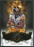 2008 Upper Deck Exquisite Collection #77 Hines Ward /75