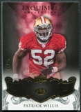 2008 Upper Deck Exquisite Collection #84 Patrick Willis /75