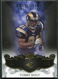 2008 Upper Deck Exquisite Collection #90 Torry Holt /75