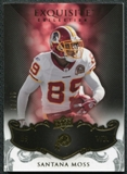 2008 Upper Deck Exquisite Collection #97 Santana Moss /75