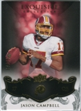 2008 Upper Deck Exquisite Collection #98 Jason Campbell /75