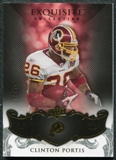 2008 Upper Deck Exquisite Collection #99 Clinton Portis /75