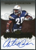 2008 Upper Deck Exquisite Collection #106 Antoine Cason Autograph /150