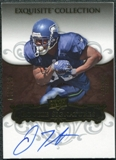 2008 Upper Deck Exquisite Collection #132 Justin Forsett RC Autograph 75/150