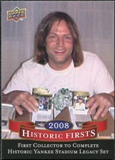 2009 Upper Deck Historic Firsts #HF8 Largest Insert Set Ever Produced (YSL)