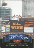 2009 Upper Deck Historic Predictors #HP1 NL Wins All Star Game
