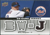 2009 Upper Deck UD Game Jersey #GJBW Billy Wagner