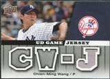 2009 Upper Deck UD Game Jersey #GJCW Chien-Ming Wang