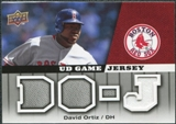 2009 Upper Deck UD Game Jersey #GJDO David Ortiz
