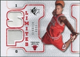 2008/09 Upper Deck SP Authentic Limited Memorabilia #SPLDR Derrick Rose