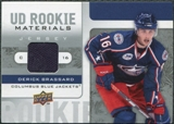 2008/09 Upper Deck Rookie Materials #RMDB Derick Brassard