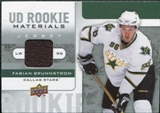 2008/09 Upper Deck Rookie Materials #RMFB Fabian Brunnstrom