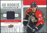 2008/09 Upper Deck Rookie Materials #RMMF Michael Frolik