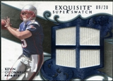 2008 Upper Deck Exquisite Collection Super Swatch Blue #SSKO Kevin O'Connell /20