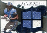 2008 Upper Deck Exquisite Collection Super Swatch Blue #SSSM Kevin Smith /20