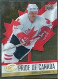 2008/09 Upper Deck Ice Pride of Canada #GOLD12 Marcel Dionne