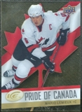 2008/09 Upper Deck Ice Pride of Canada #GOLD13 Mario Lemieux
