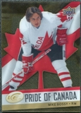 2008/09 Upper Deck Ice Pride of Canada #GOLD15 Mike Bossy