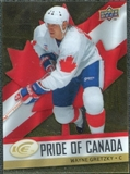 2008/09 Upper Deck Ice Pride of Canada #GOLD21 Wayne Gretzky