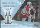 2008/09 Upper Deck Ice Stanley Cup Foundations #SCFAM Al MacInnis