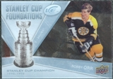 2008/09 Upper Deck Ice Stanley Cup Foundations #SCFBO Bobby Orr