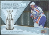 2008/09 Upper Deck Ice Stanley Cup Foundations #SCFJK Jari Kurri