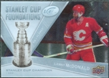 2008/09 Upper Deck Ice Stanley Cup Foundations #SCFLM Lanny McDonald