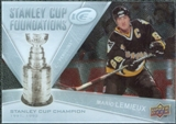 2008/09 Upper Deck Ice Stanley Cup Foundations #SCFML Mario Lemieux