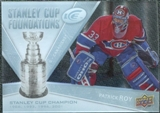 2008/09 Upper Deck Ice Stanley Cup Foundations #SCFPR Patrick Roy