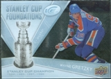 2008/09 Upper Deck Ice Stanley Cup Foundations #SCFWG Wayne Gretzky
