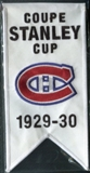 2008/09 Upper Deck Montreal Canadiens Mini Banners 1929-30 Stanley Cup