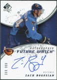 2008/09 Upper Deck SP Authentic #192 Zach Bogosian RC Autograph /999