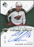 2008/09 Upper Deck SP Authentic #199 Colton Gillies RC Autograph /999