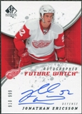 2008/09 Upper Deck SP Authentic #230 Jonathan Ericsson RC Autograph /999