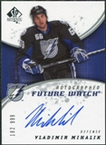 2008/09 Upper Deck SP Authentic #238 Vladimir Mihalik RC Autograph /999