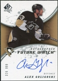 2008/09 Upper Deck SP Authentic #242 Alex Goligoski RC Autograph /999