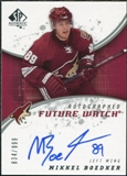 2008/09 Upper Deck SP Authentic #245 Mikkel Boedker RC Autograph /999
