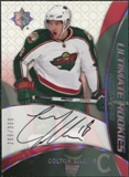 2008/09 Upper Deck Ultimate Collection Rookie #67 Colton Gillies Autograph /399