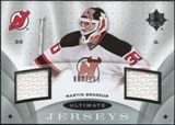 2008/09 Upper Deck Ultimate Collection Ultimate Jerseys #UJMB Martin Brodeur /100