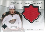 2008/09 Upper Deck Ultimate Collection Debut Threads #DTCG Colton Gillies /200