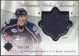 2008/09 Upper Deck Ultimate Collection Debut Threads #DTDB Derick Brassard /200