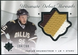 2008/09 Upper Deck Ultimate Collection Debut Threads #DTFB Fabian Brunnstrom /200