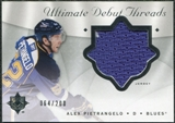 2008/09 Upper Deck Ultimate Collection Debut Threads #DTPI Alex Pietrangelo /200